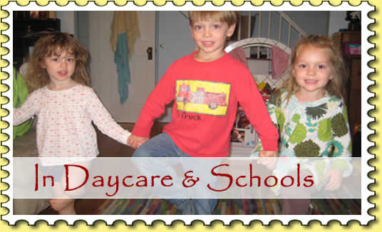 In Daycare & Schools